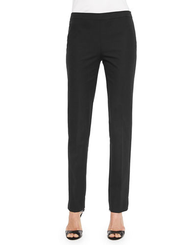 Flat-Front Bleecker Pants, Plus Size