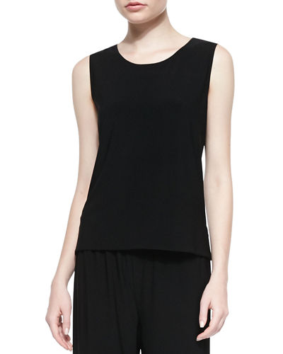 Caroline Rose Basic Knit Tank, Plus Size