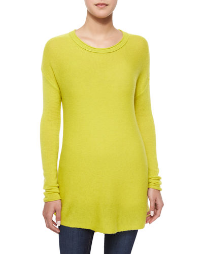 Cashmere High-Low Tunic