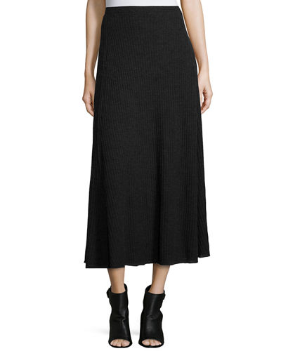 Eileen FisherFisher Project Merino Pleated Long Skirt