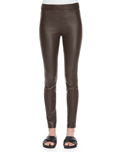 Theory Adbelle Leather Axiom Pants