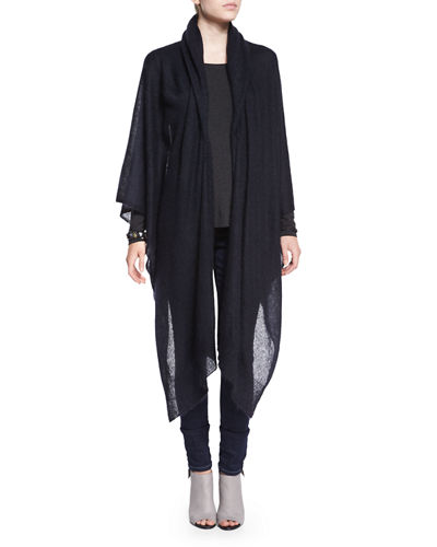 Eileen Fisher Fisher Project Airy Washed Cardigan Wrap