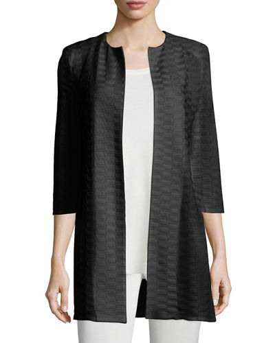 CLSSC TEXTURED LONG JACKET