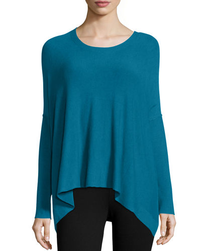 Eileen Fisher Cozy Long-Sleeve Boxy Top, Women's