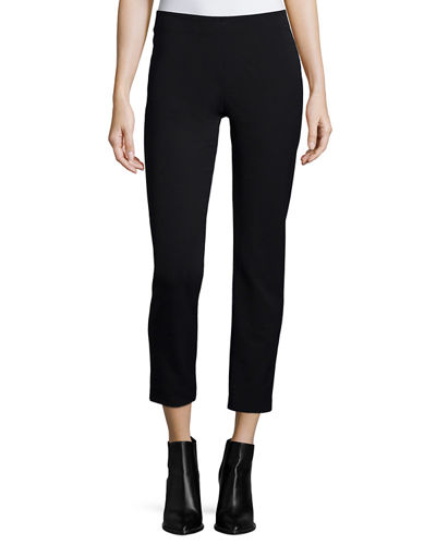 Slim-Fit Pull-On Trousers
