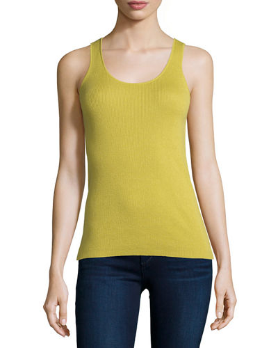 Superfine Ribbed Tank