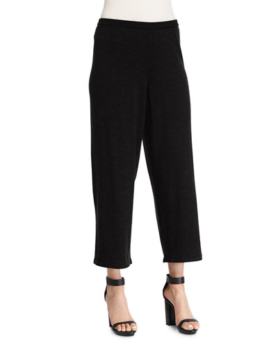 Eileen Fisher Merino Jersey Cropped Pants