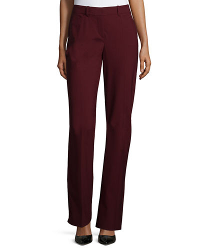 Theory Max 2 Edition Flat-Front Trousers