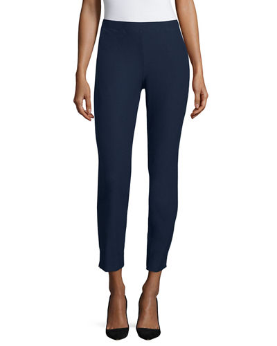 Eileen Fisher Washable Tapered Slim Pants