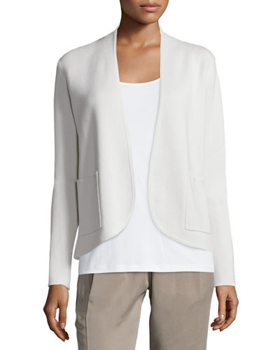 Silk Organic Cotton Interlock Jacket