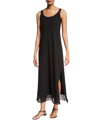 Tommy Bahama Scoop-Neck Long Coverup Dress