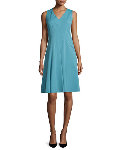 Emery Sleeveless V-Neck Dress