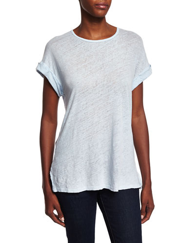 FRAME DENIM Le Muscle Round-Neck Tee
