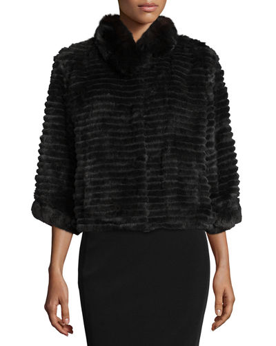 Fur &amp Faux Fur Coats : Bomber Jackets at Neiman Marcus