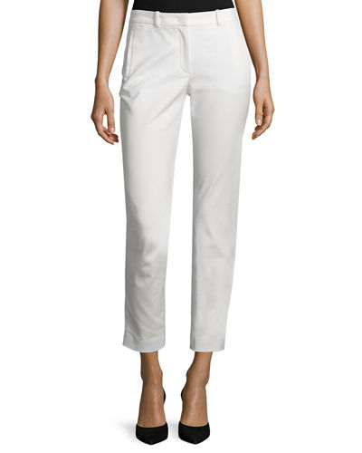 Eliston Sateen Ankle Trousers