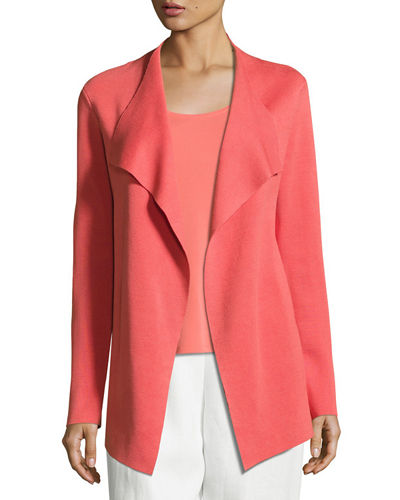 Eileen Fisher CLSSC INTRLCK CASCADE JACKET