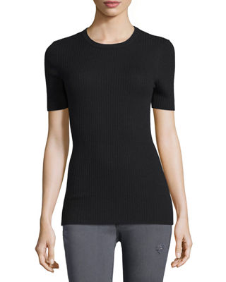 Crew Short-Sleeve Sweater