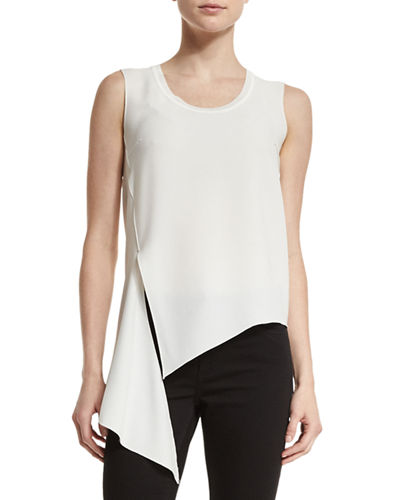 Ronen Sleeveless Scoop-Neck Top