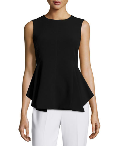 Theory Kalsing Admiral Crepe Peplum Top