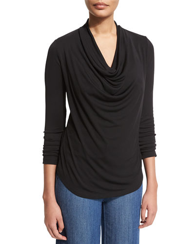 NYDJ Fit Solution Cowl-Neck Tee