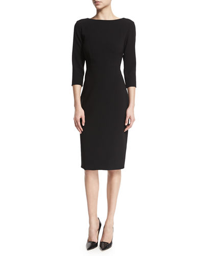 Theory Varetta Admiral Crepe Sheath Dress