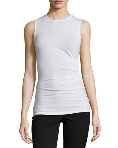 Theory Mirinz Stretch-Knit Sleeveless Top