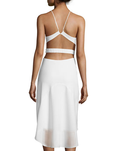 Halter-Neck Dress W/Cutouts