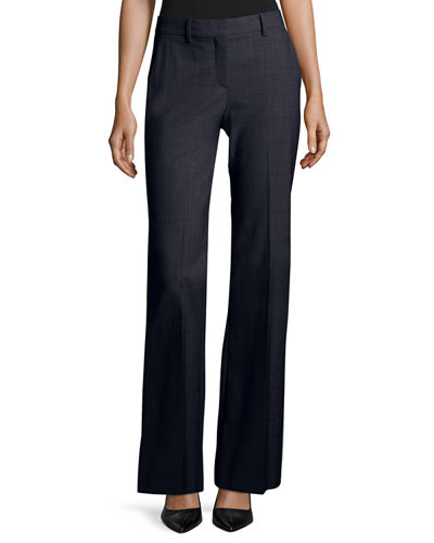 Jotsna Continuous Stretch-Wool Pants