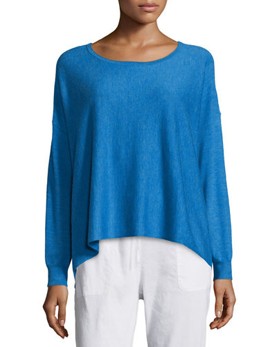 Featherweight Cashmere Boxy Top