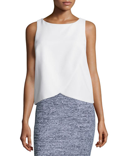 Theory Mintorey Admiral Crepe Top