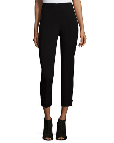 Eileen Fisher Lightweight Twill Ankle Pants