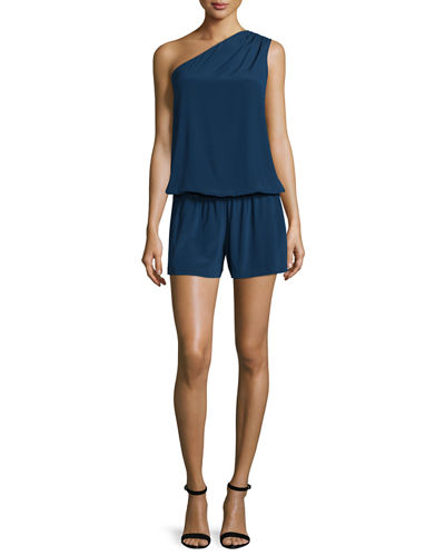 Lulu One-Shoulder Romper