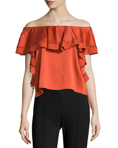 Gaia Off-The-Shoulder Top
