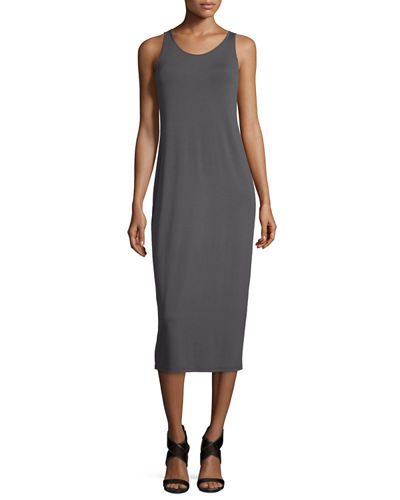 Sleeveless Jersey Midi Dress, Petite