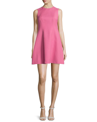 RED Valentino Clean Cut Fit-&-Flare Dress