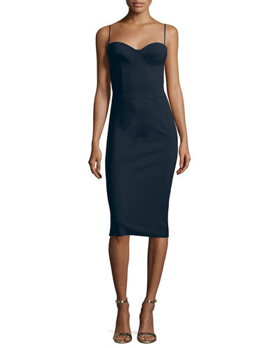 Custom Collection: Dionella Sleeveless Sheath Cocktail Dress