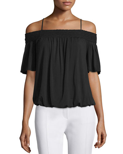 Ella Moss Bella Off-The-Shoulder Blouson Top
