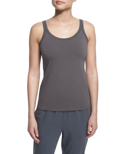 Stretch Jersey Slim Tank