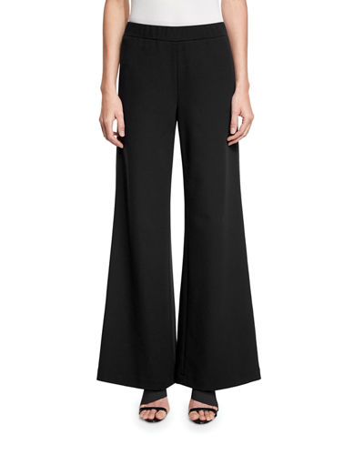 Lafayette 148 New York Wide-Leg Flared Pants