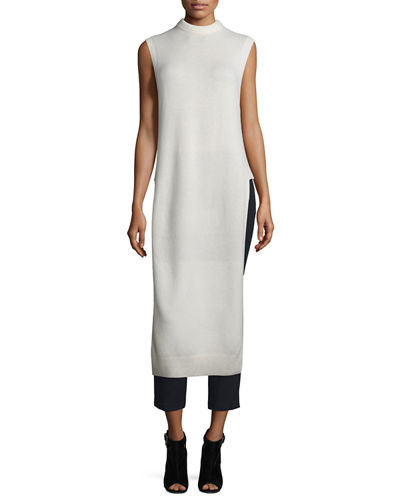 T by Alexander Wang Long Wool-Blend Dickey