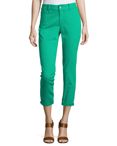 Clarissa Cropped Skinny Twill Jeans