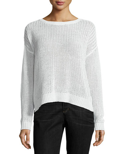 Fisherman's Knit Top