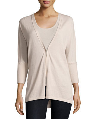 Superfine Cashmere Dolman-Sleeve Cardigan Best Reviews