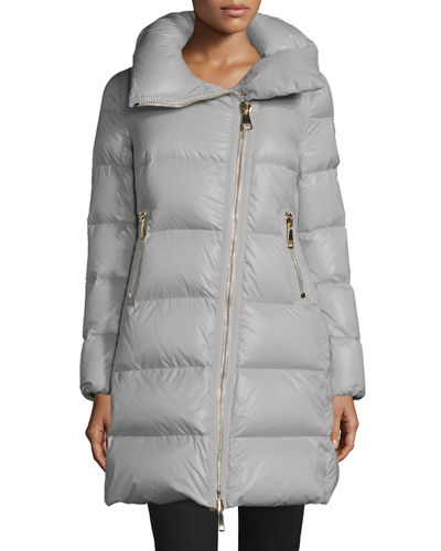 Joinville Long Asymmetric Puffer Jacket