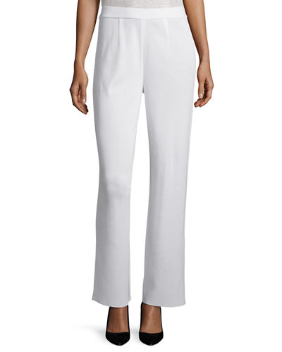 Mid-Rise Wide-Leg Pants, Plus Size