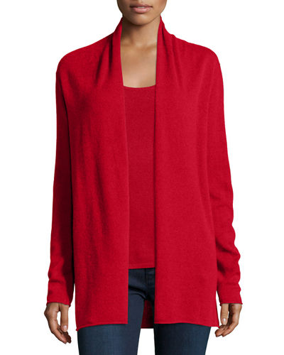 Cashmere Draped Cardigan