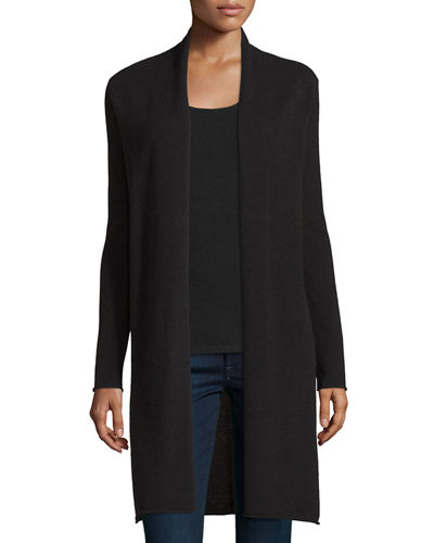 Neiman Marcus Cashmere Collection Long Cashmere Duster Cardigan