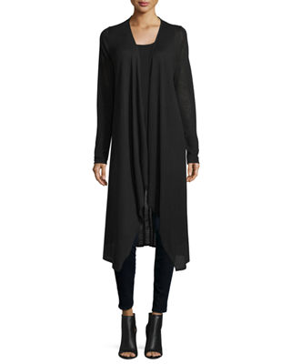 Neiman Marcus Cashmere Collection Superfine Cashmere Duster Sweater