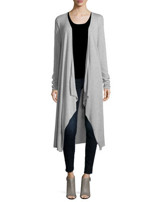 Superfine Cashmere Duster Sweater