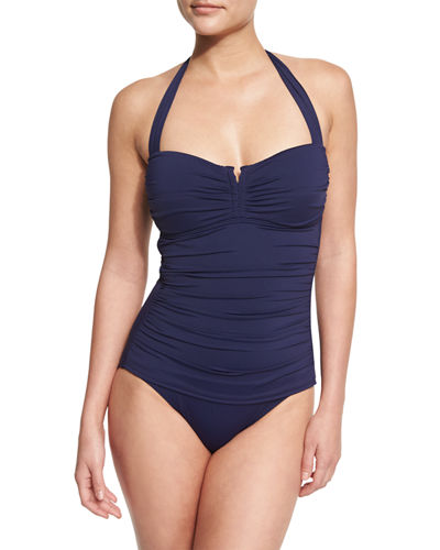 Tommy Bahama Pearl Halter One-Piece Swimsuit